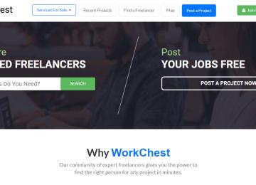 WorkChest Freelance marketplace for Pakistani freelancers