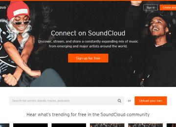 Soundcloud online music Reviews