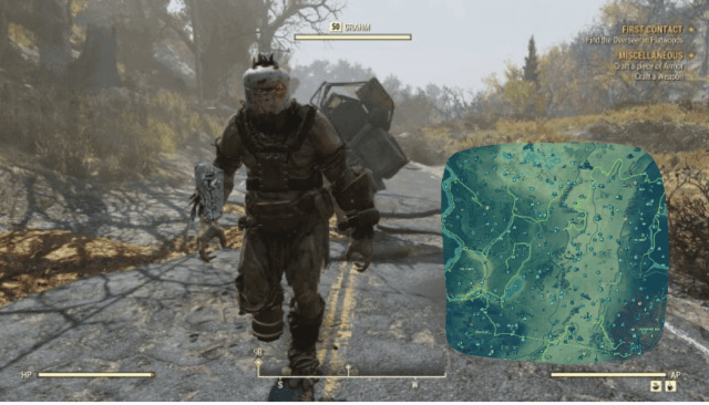 FInd Fallout 76 Grahm & his Route