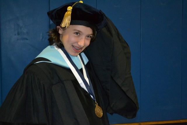 At Graduation