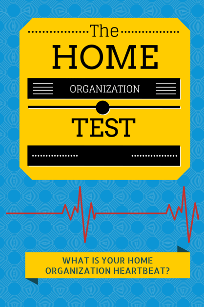 The Home Organization Test by Journey of a Steward