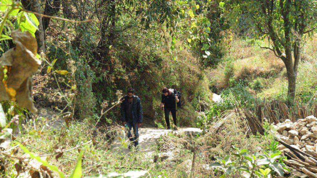 Trekking to Chisapani, Nepal