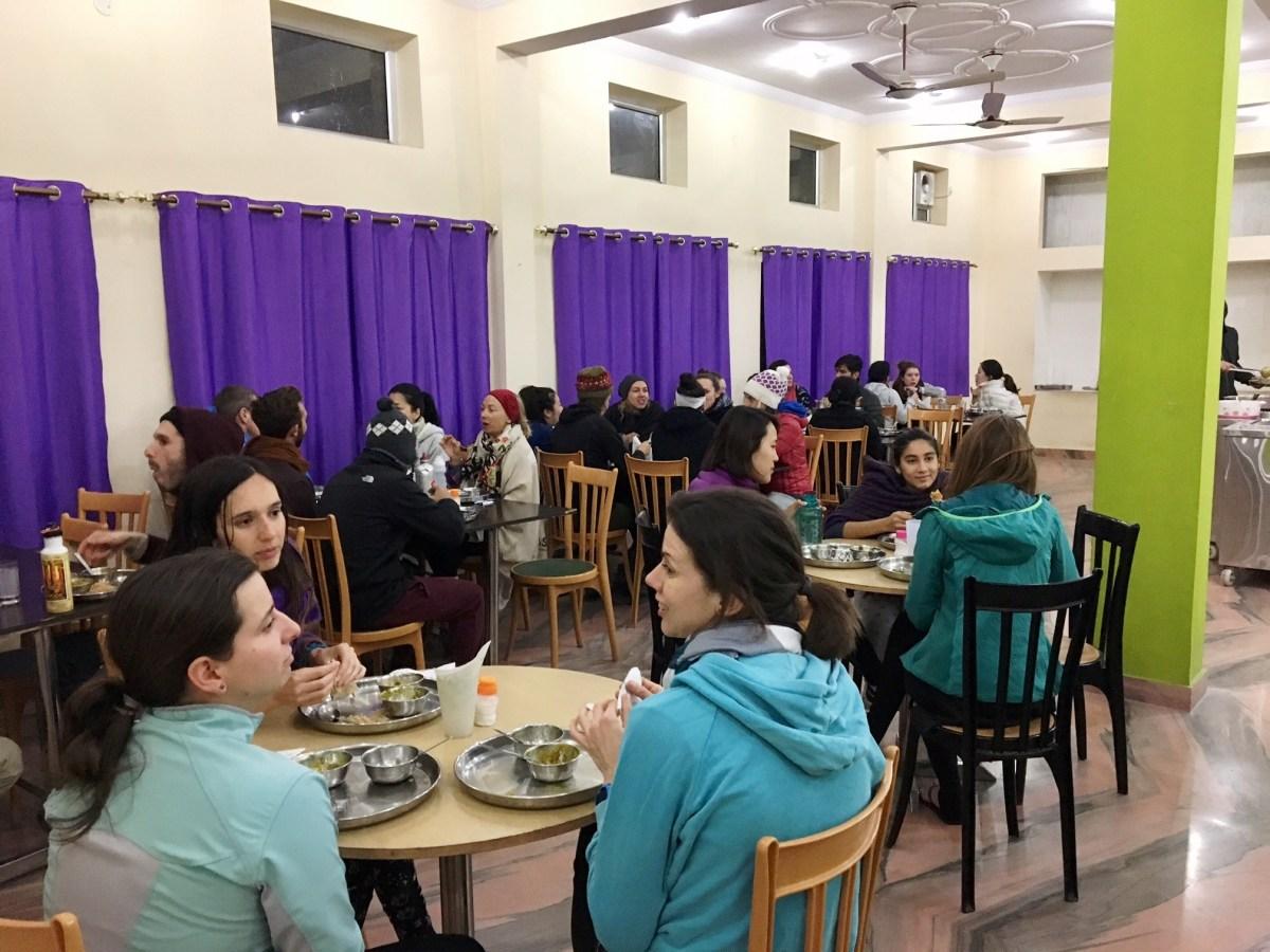 Cafeteria at Rishikes Yog Peeth