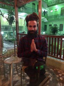 Sergio Zennaro, Student at Yog Peeth