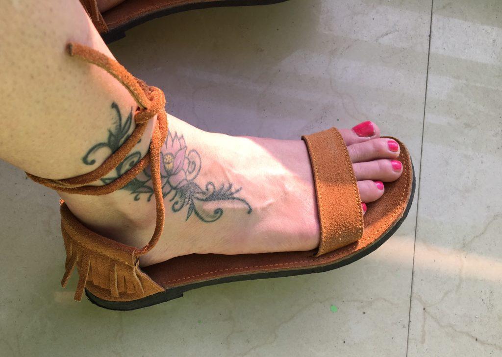 Handmade sandals for $6.00