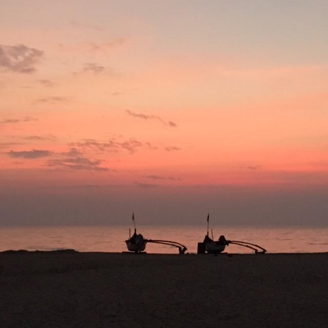 Sunset on Agonda Beach in Goa