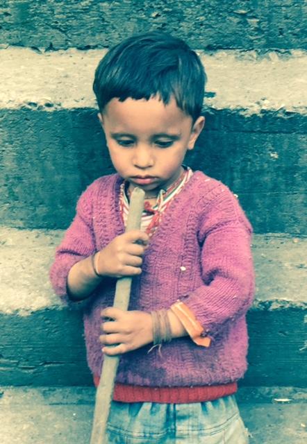India boy from Malan