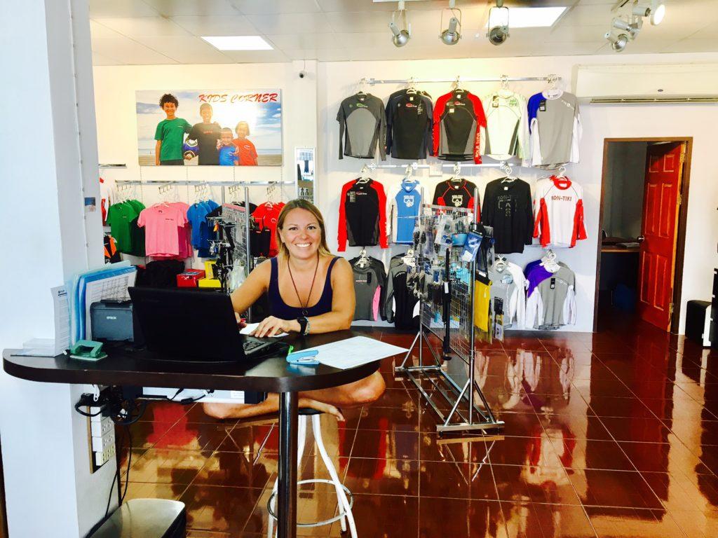 Johanna, Kon-Tiki employee from Spain
