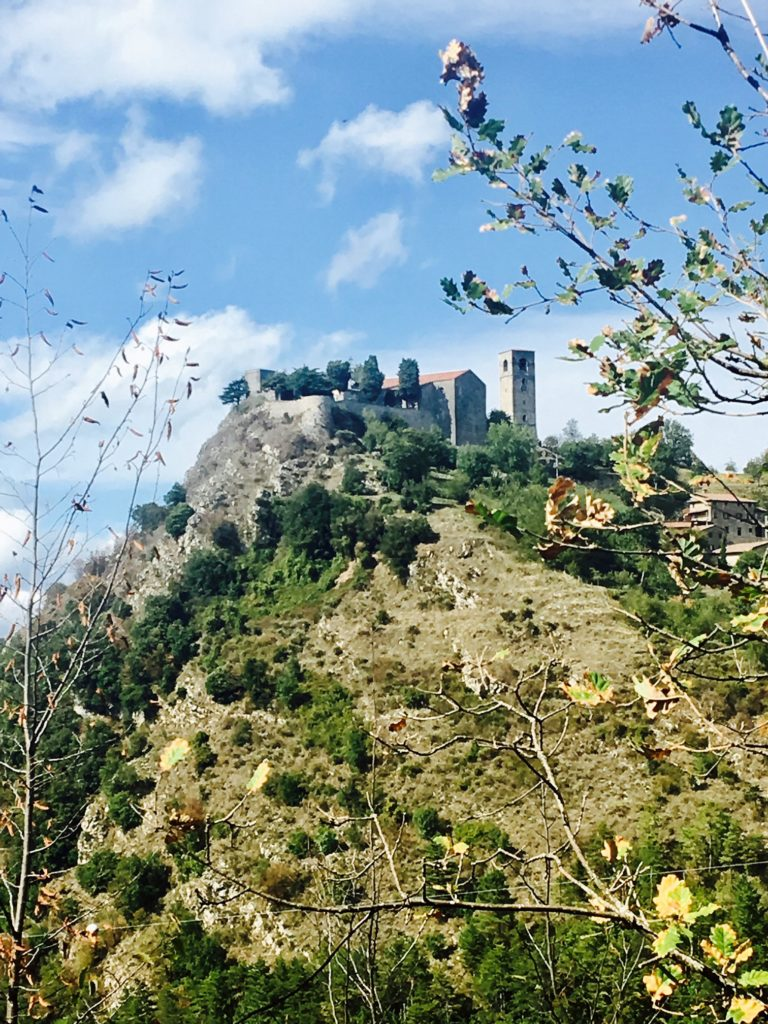 The ancient castle in Sassi