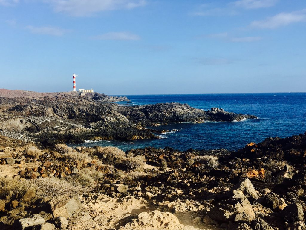 One of the lighthouses on Tenerife