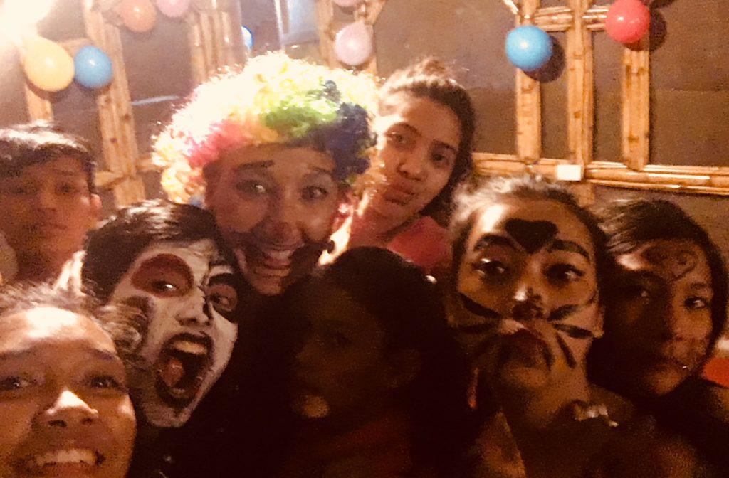 Halloween at Ramana's