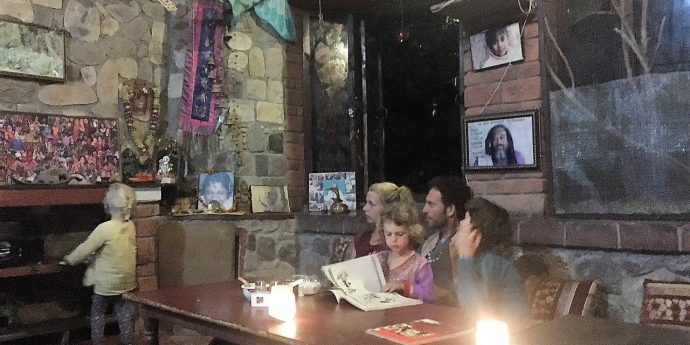 Ramana's Garden Cafe in Rishikesh