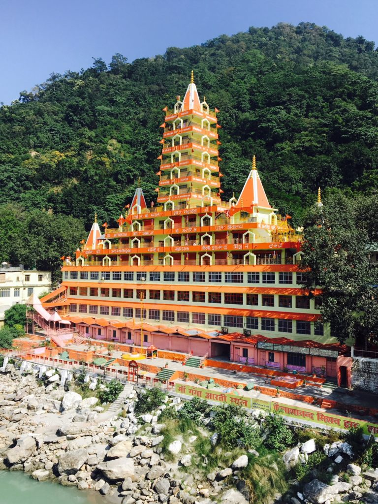 Temple in Rishikesh