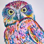 Owl with Attitude by Meg Mader The Journey Studio