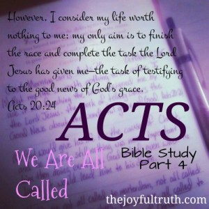 Acts: We Are All Called