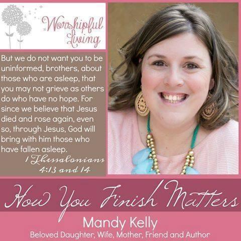 Mandy Kelly - Finishing Well
