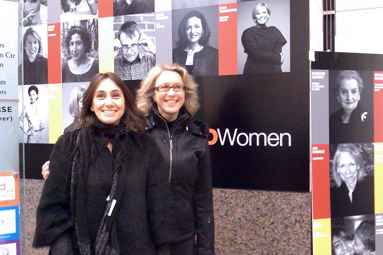 TED Woman : Vanina Gallo et Katalin Berenyi