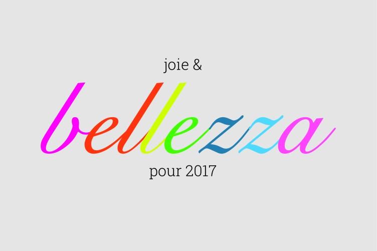 Joie & beauté en 2017
