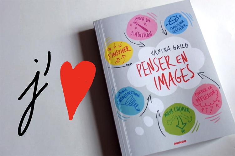 "J'aime ""Penser en images"" de Vanina Gallo"