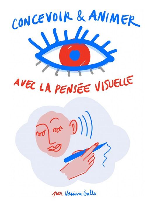 Concevoir et animer avec la pensée visuelle, par Vanina Gallo