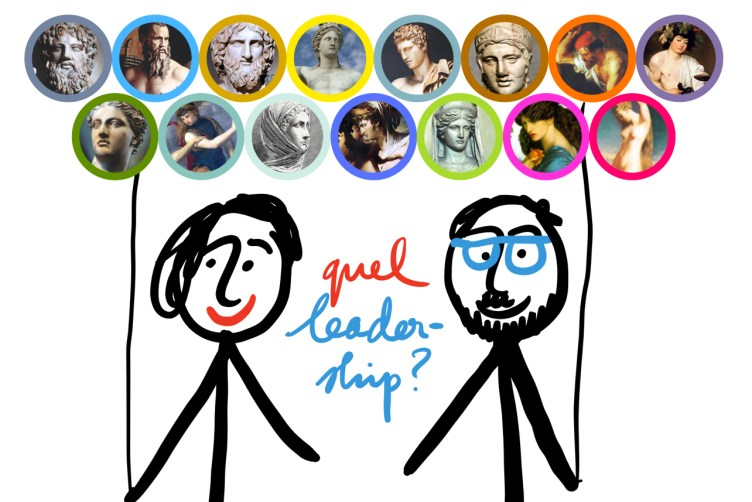 8 mars, le leadership inspiré avec les dieux grecs