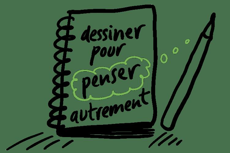 formation, prise de note visuelle, sketch noting, facilitation graphique, pensée visuelle, dessin, dessiner, impact, créativité