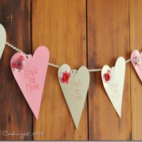 Country Cute Valentine's Day Garland