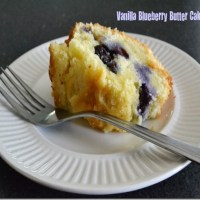 The Vanilla Blueberry Butter Cake