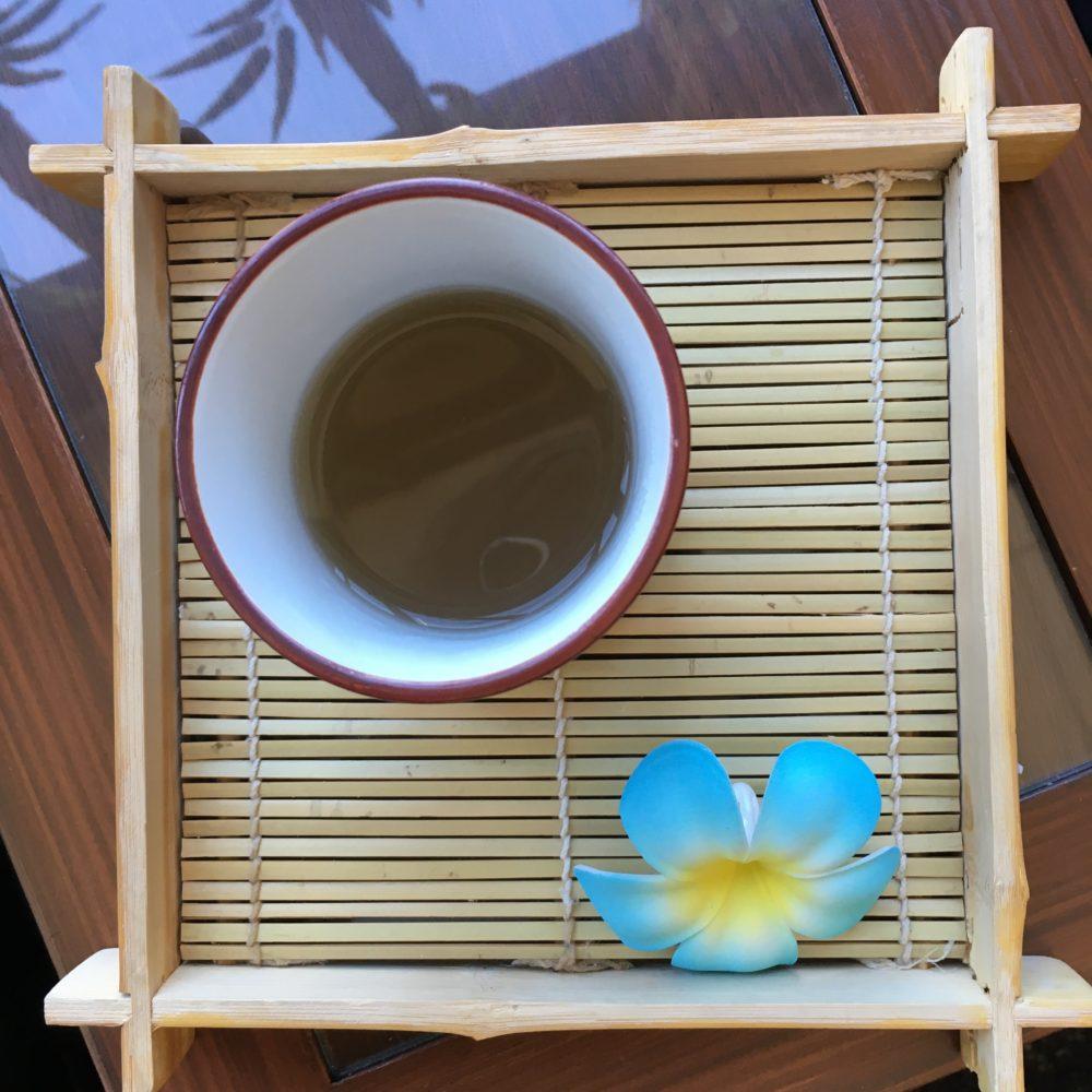 Self-care ginger tea