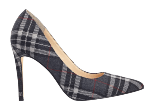 Autumn Fashions plaid pump
