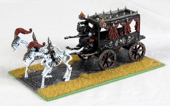 vampire counts black coach custom base