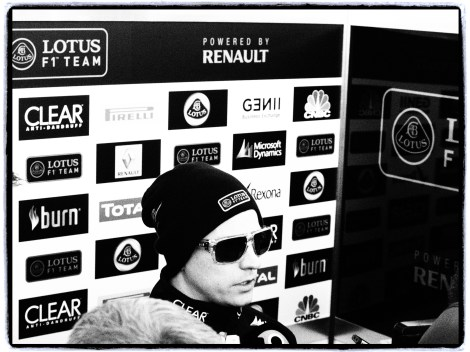 Kimi Raikkonen - Jerez Feb 2013