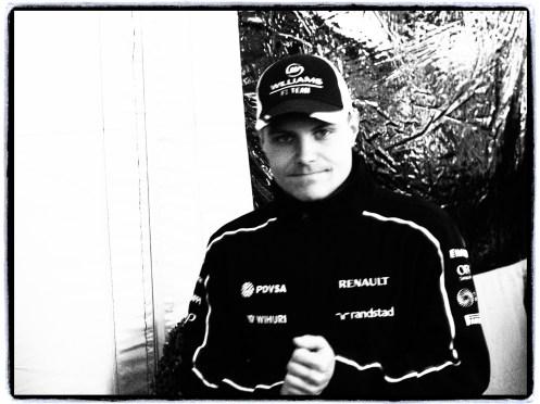 Valtteri Bottas - Jerez Feb 2013