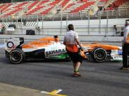 Di resta's done a good long run....