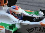 Force india and Di Resta now finished till Melbourne...