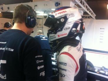 Bottas wants a beer...