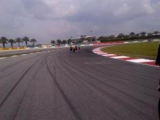 Tricky T14 - exit important but braking turning into apex is difficult due to high lateral load