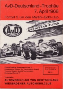 1968 Hockenheim-Ring Racing Program