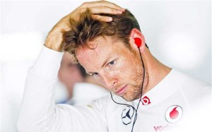 Jenson Button McLaren China 2013 Q3