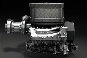 Mercedes Benz 2014 F1 Turbo ©Mercedes