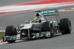 Lewis Hamilton - Circuit De Catalunya
