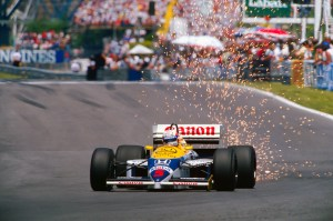 Nigel Mansell ©Williams