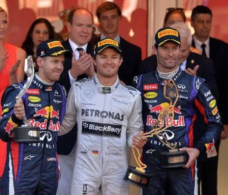 Monaco 2013 Podium