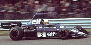 Jody Scheckter Tyrrell Ford 007 1975 © Trax Models