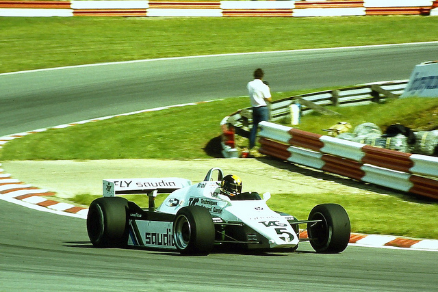 Derek Daly - Williams FW08 © Karting Nord