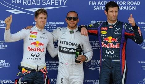 German Grand Prix Qualifying 2013