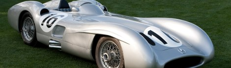 Mercedes-Benze W196 Streamliner