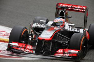 Belgium Grand Prix Jenson Button