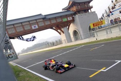 Sebastian Vettel Korea 2012
