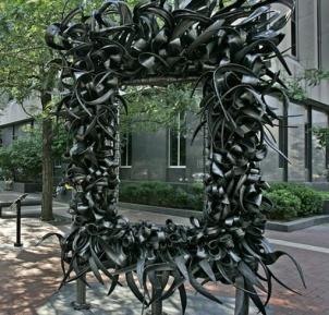 ...a garden arch....